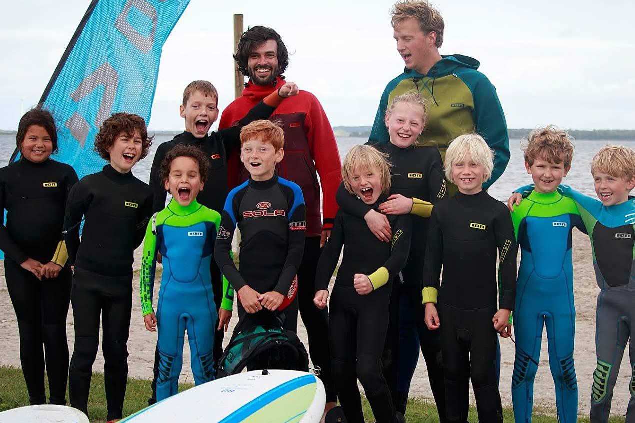 Windsurfen voor kids