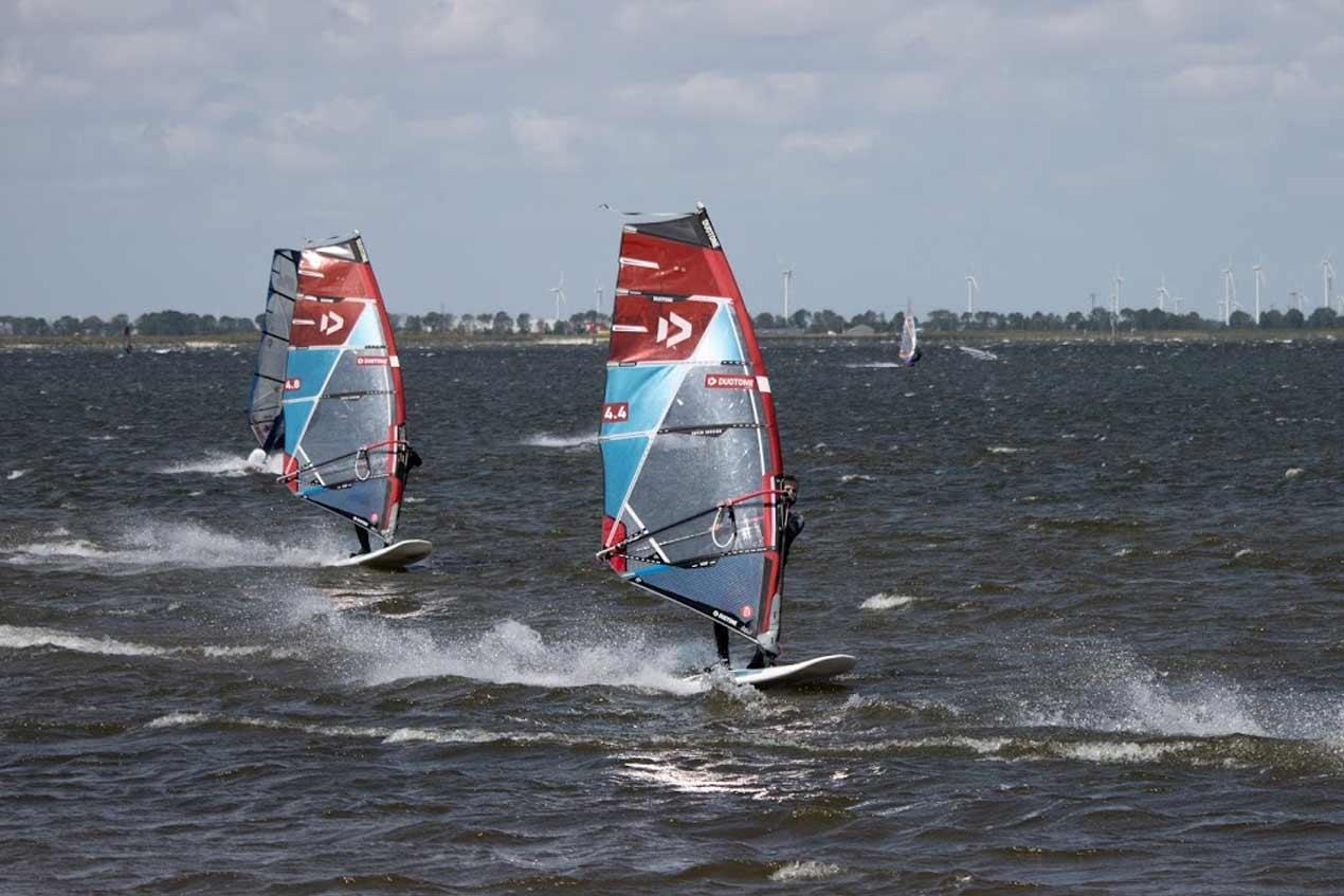 Persoonlijke windsurfles